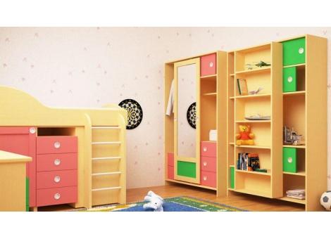 Шкаф для книг коллекции Радуга-3