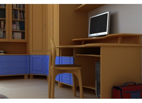 Стол компьютерный  коллекции Радуга-3